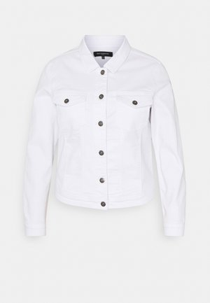 CARWESPA LIFE JACKET - Denim jacket - white