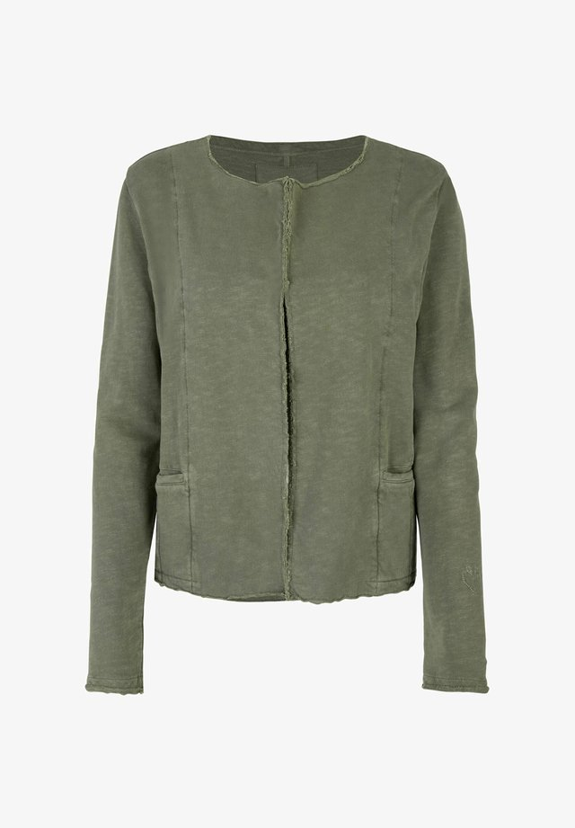 CARSTINEL - Zip-up hoodie - khaki