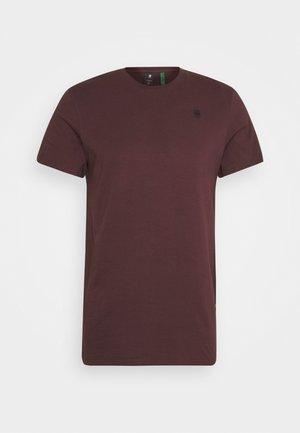 BASE-S R T S\S - T-shirt basic - dark fig