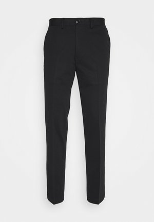SLHSLIM JIM FLEX - Trousers - black