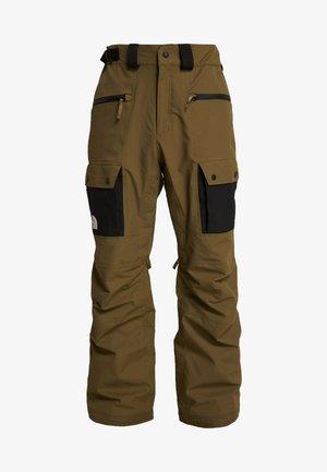 SLASHBACK  - Pantalón de nieve - military olive/black