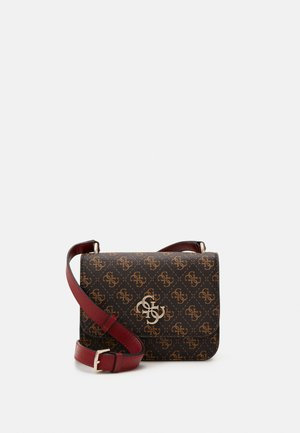 NOELLE MINI CROSSBODY FLAP - Umhängetasche - brown