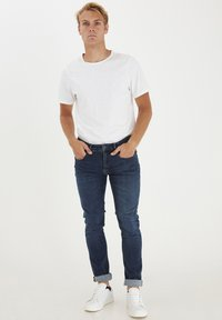 Casual Friday - Slim fit jeans - denim mid blue - 1