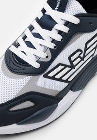 Emporio Armani - Trainers - navy/white/silver - 5
