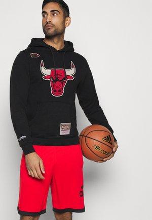 NBA CHICAGO BULLS WORN LOGO WORDMARK HOODY - Article de supporter - black