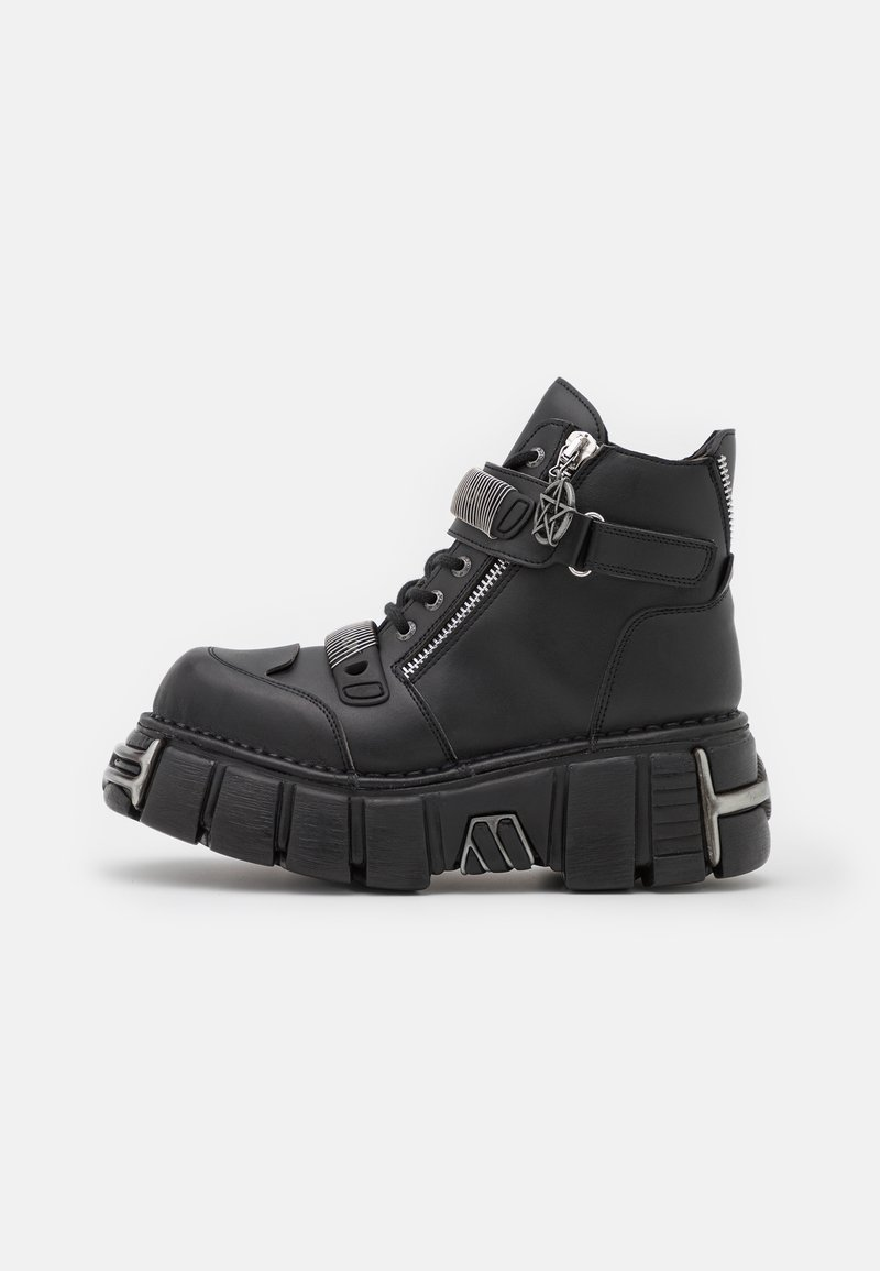 New Rock - UNISEX - Lace-up ankle boots - black