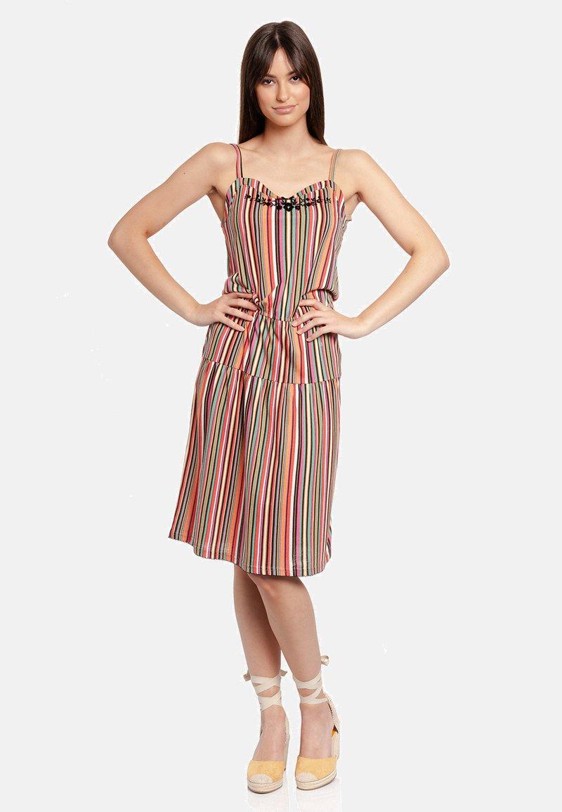 Vive Maria - VIVA MEXICO  - Jersey dress - mehrfarbig
