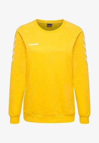 Sweatshirt - sports yellow