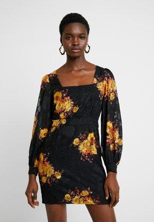 IBIZA MINI DRESS - Sukienka letnia - noir