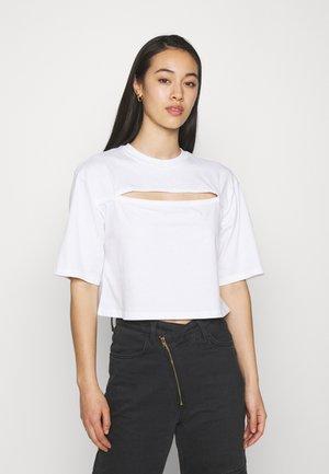 T-shirt print - white light