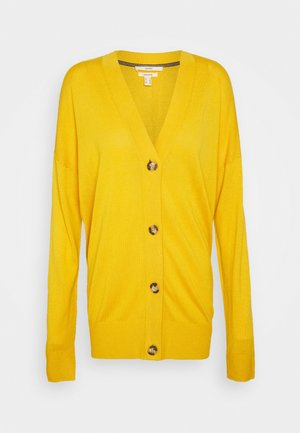 BUTTOND CARDI - Cardigan - brass yellow