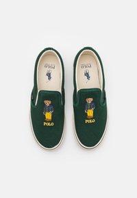Polo Ralph Lauren - KEATON - Nazouvací boty - college green - 3