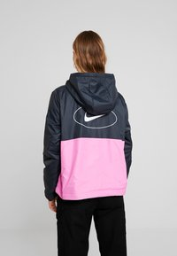 Nike Sportswear - ANORAK - Light jacket - black/china rose - 2