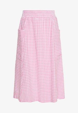 QIA SKIRT - A-linjekjol - pink