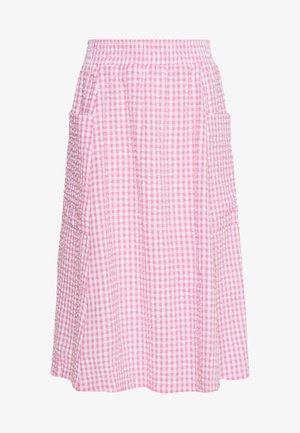 QIA SKIRT - Áčková sukně - pink