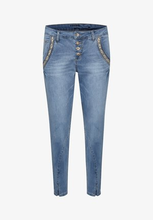 CRHOLLY - Slim fit jeans - light blue denim