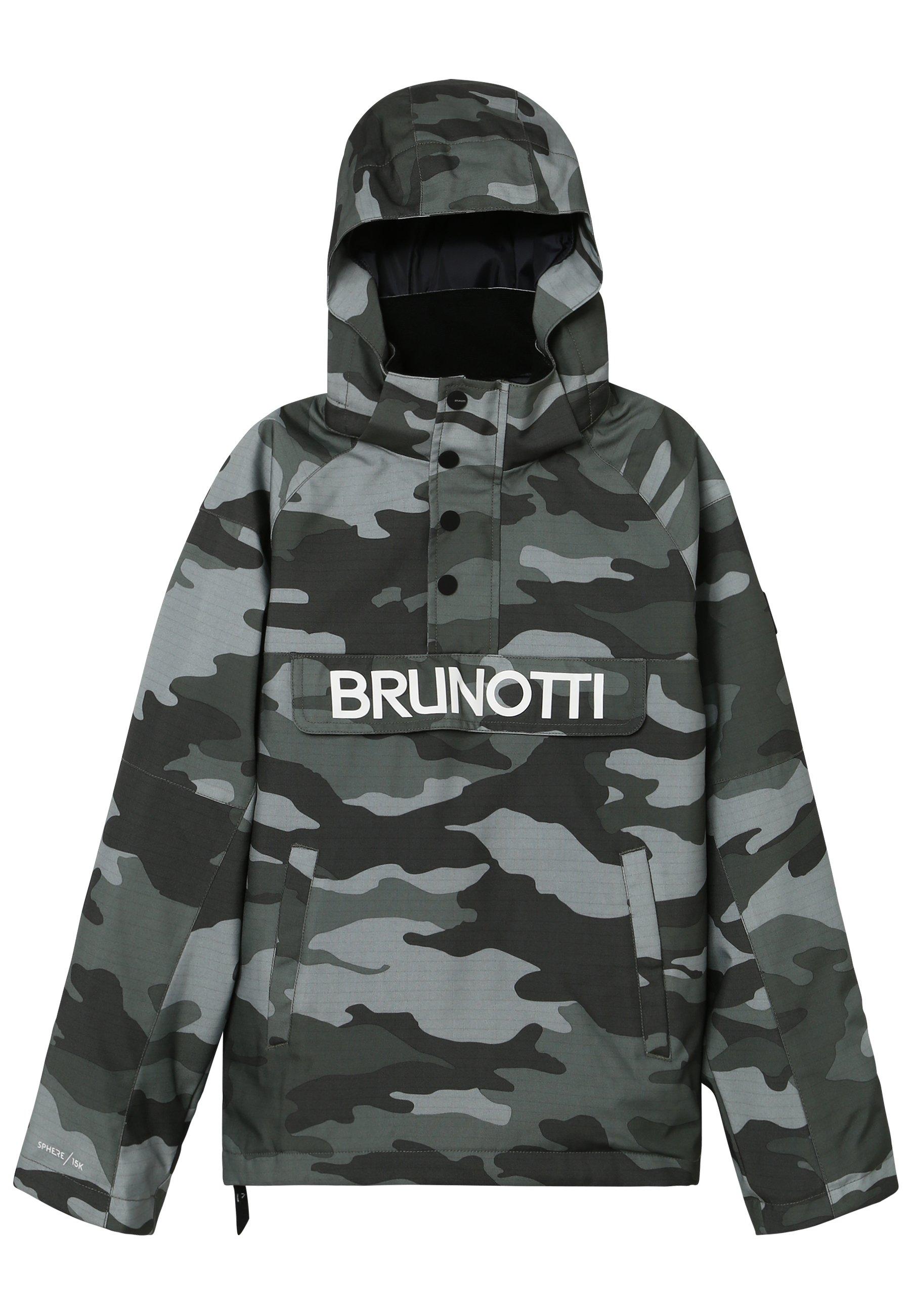 Brunotti KINGERS BOYSSNOWJACKET Snowboardjas titanium