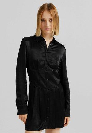 MIT CORSAGENBUND - Denní šaty - black