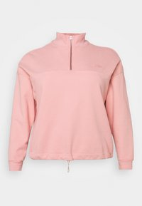 PL POM QTR ZIP - Sweatshirt - blush