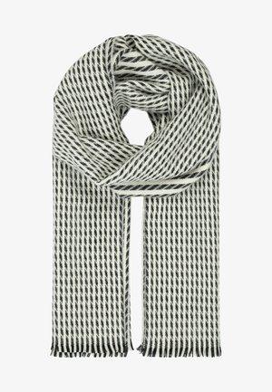 Sjaal - weiß/schwarz