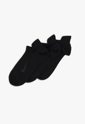 EVERYDAY PLUS 3 PACK - Sports socks - black