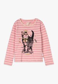 Lemon Beret - SMALL GIRLS  - Langærmede T-shirts - flamingo pink - 0