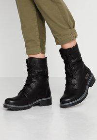 Rieker - Winter boots - schwarz/graphit - 0