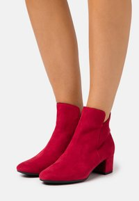 Tamaris - WOMS - Ankle boots - lipstick - 0