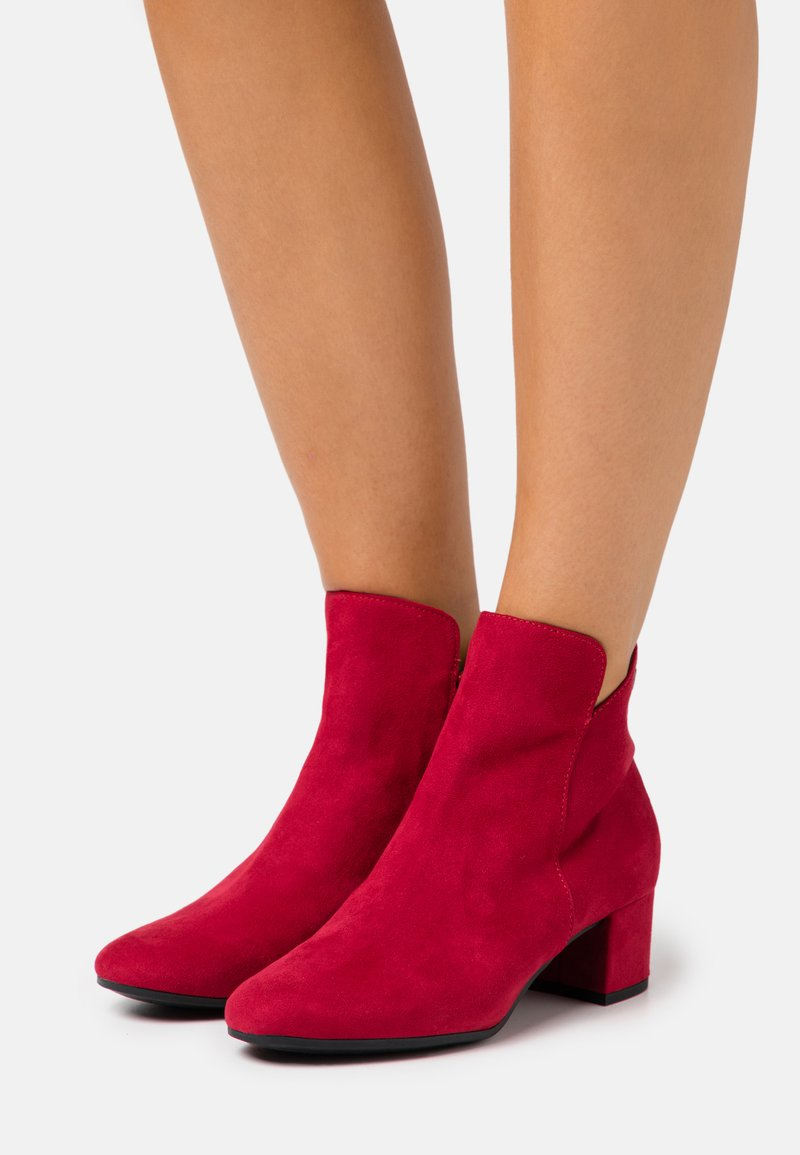 Tamaris - WOMS - Ankle boots - lipstick