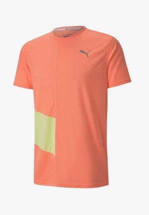 IGNITE - Print T-shirt - nrgy peach-fizzy yellow