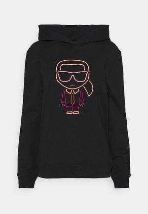 IKONIK OUTLINE HOODIE - Sweatshirts - black