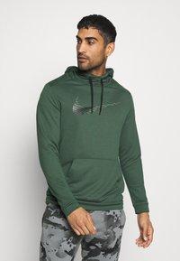 Nike Performance - DRY HOODIE - Felpa con cappuccio - galactic jade - 0