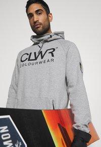 COLOURWEAR - BOWL HOOD - Sweater - grey - 3