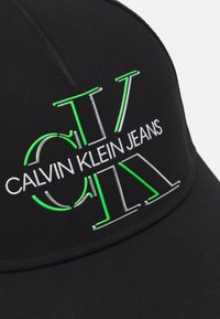 Calvin Klein Jeans - GLOW UNISEX - Cap - black - 3