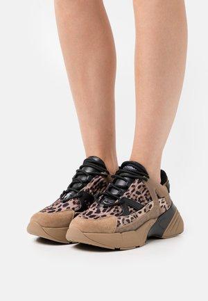 RUBINO ST MACULAT - Sneakersy niskie - multi-coloured/marrone/nero