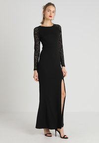 WAL G. - SLEEVE MAXI - Cocktail dress / Party dress - black - 0