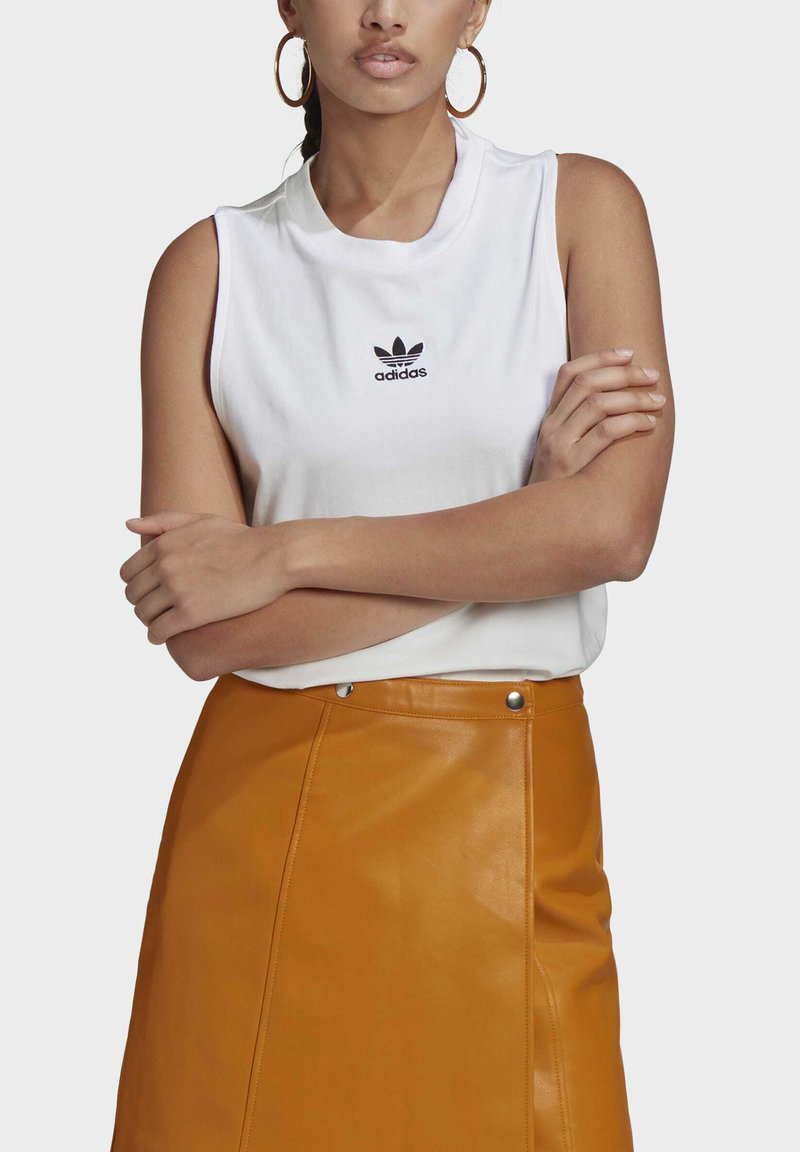 adidas Originals - TANK - Top - white