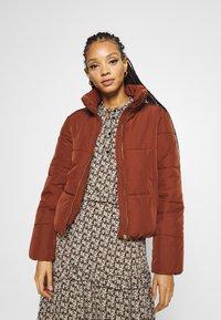 JDY - JDYNEWERICA PADDED JACKET - Winter jacket - cherry mahogany - 3