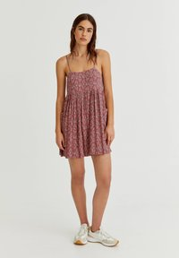 PULL&BEAR - Day dress - red - 1