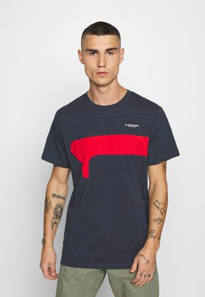 ONE CUT AND SEWN  - T-shirt print - indigo
