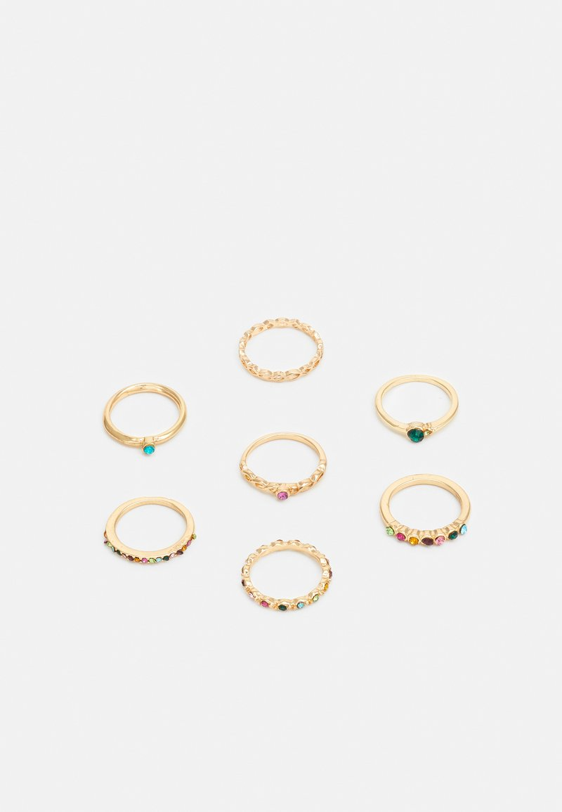 sweet deluxe - RINGS FOR EVERY FINGER 7 PACK - Ring - gold-coloured