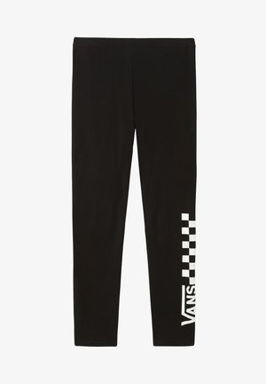 WM CHALKBOARD CLASSIC - Leggings - Trousers - black