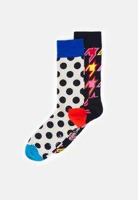 Happy Socks - STRIPE DOT DOG TOOTH SOCK 2 PACK UNISEX - Socks - multi - 0