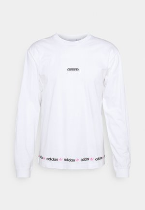 LINEAR REPEAT ORIGINALS LONG SLEEVE - T-shirt à manches longues - white