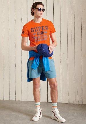 Print T-shirt - denver orange