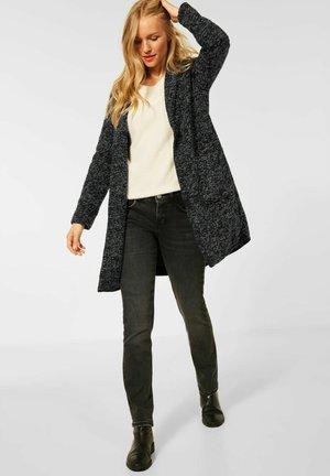 IN SALT AND PEPPER - Classic coat - schwarz