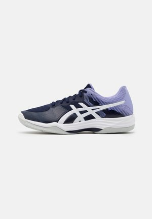 GEL TACTIC - Volleyball shoes - peacoat/white