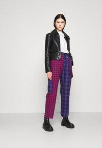 The Ragged Priest - CRUX PANT - Pantalones - pink/purple/black - 1