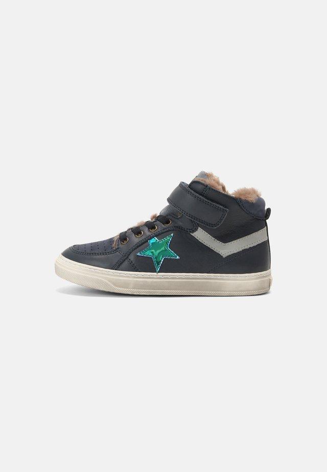 IAN - Sneakers high - navy
