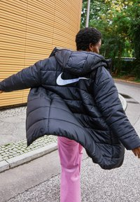 Nike Sportswear - CLASSIC - Winter coat - black/white - 2
